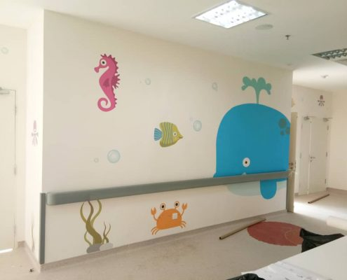 Wallpaper Printing- KPJ Johor