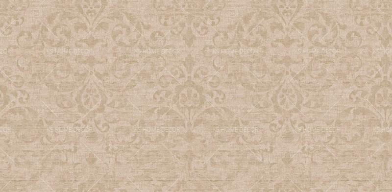 Light Brown Floral Art Vinyl Jual Vivace Rhapsody Korea Wallpaper 7005 2