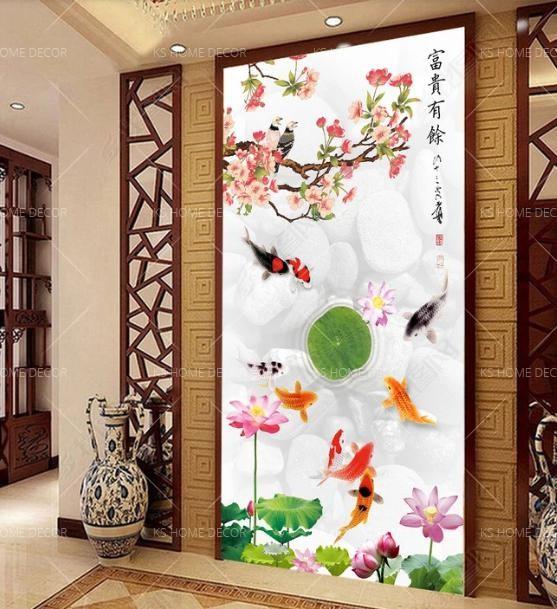 Fengshui Koi Fish 13655225 Customize Wallpaper Wall Sticker