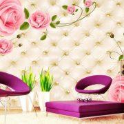 Rose Mural wallpaper