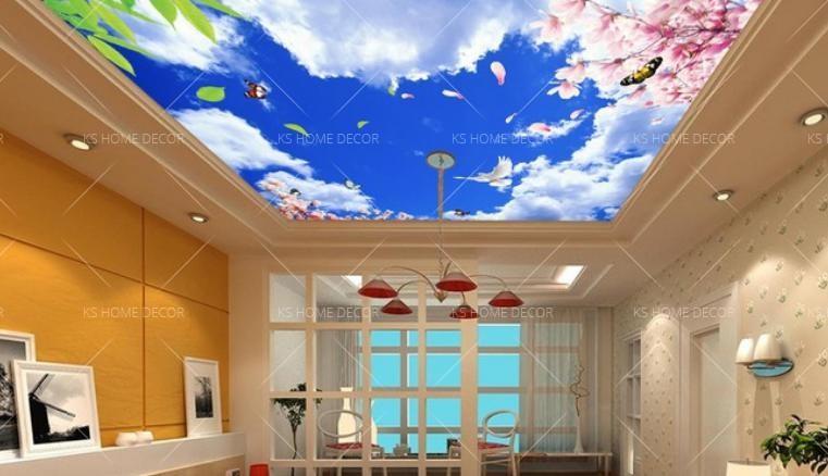 ceiling wall mural 13777810 – customize wallpaper wall sticker