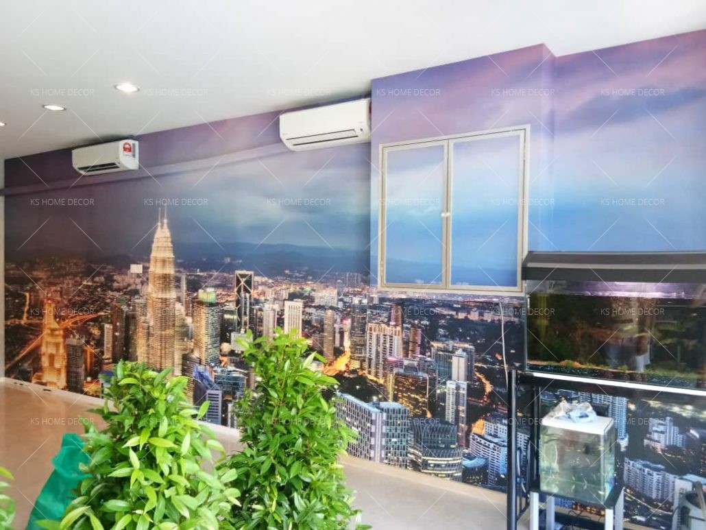 Mural Wallpaper Printing
