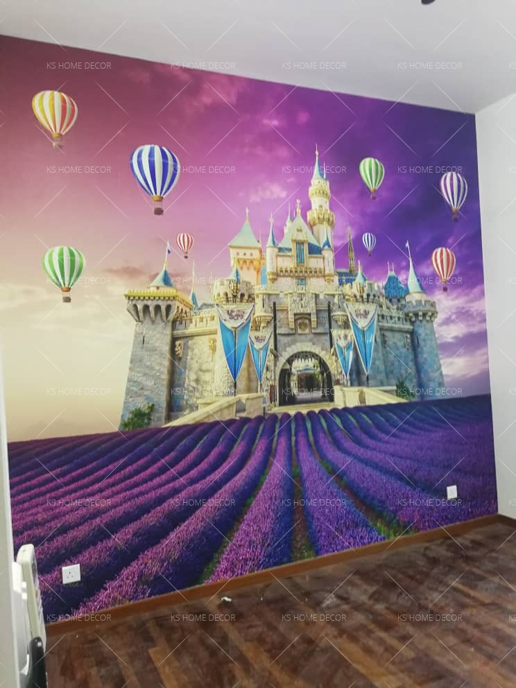 custom wall sticker kl, penang, johor will make you love your walls